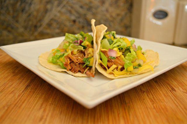 Slow Cooked Pork Carnitas Tacos | Recipe