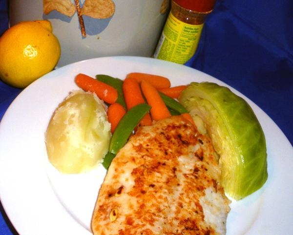 Pan Fried Sole With Lemon Recipe — Dishmaps