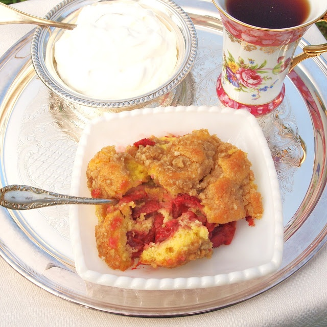 Apple And Strawberry Crumb Cake Recipes — Dishmaps