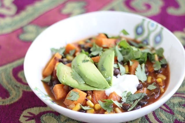 Sweet Potato & Black Bean Chili | Food for Thought | Pinterest