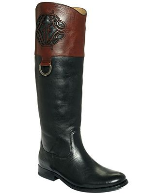 frye s logo boots