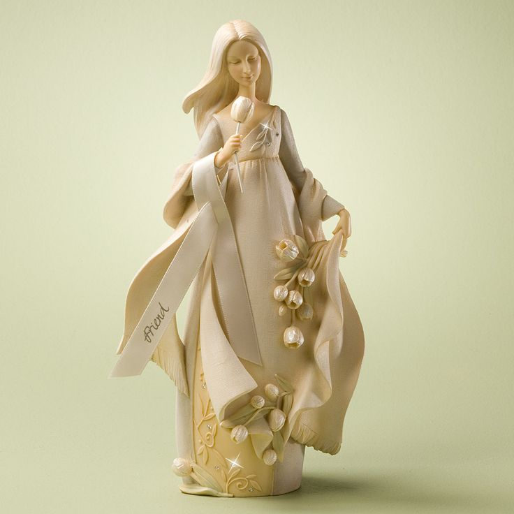 Foundations Friend Angel Figurine 4025636 Enesco Bnib Special Friend