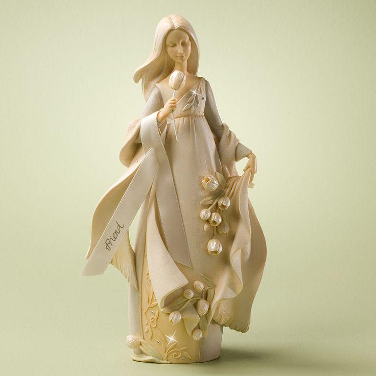 Foundations friend angel figurine 4025636 enesco bnib special friend - Angels figurines for sale ...