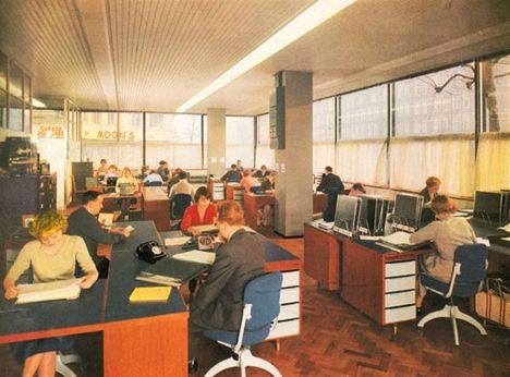 1960s office interior to work pinterest