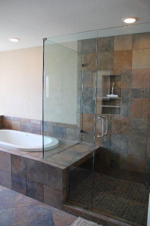 Master bath whirlpool tub new master bath ideas pinterest for Whirlpool tub bathroom designs