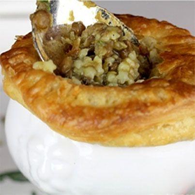 ... vegetarian-pot-pie-lentil-pasta-recipe *** Vegetarian Pot Pie with