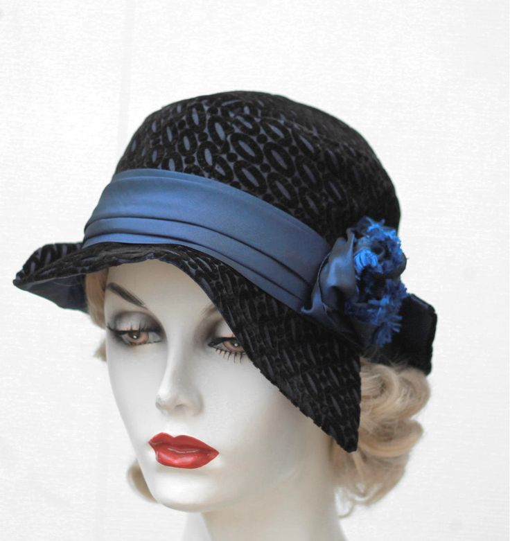 1920s fashion hats hairstyles