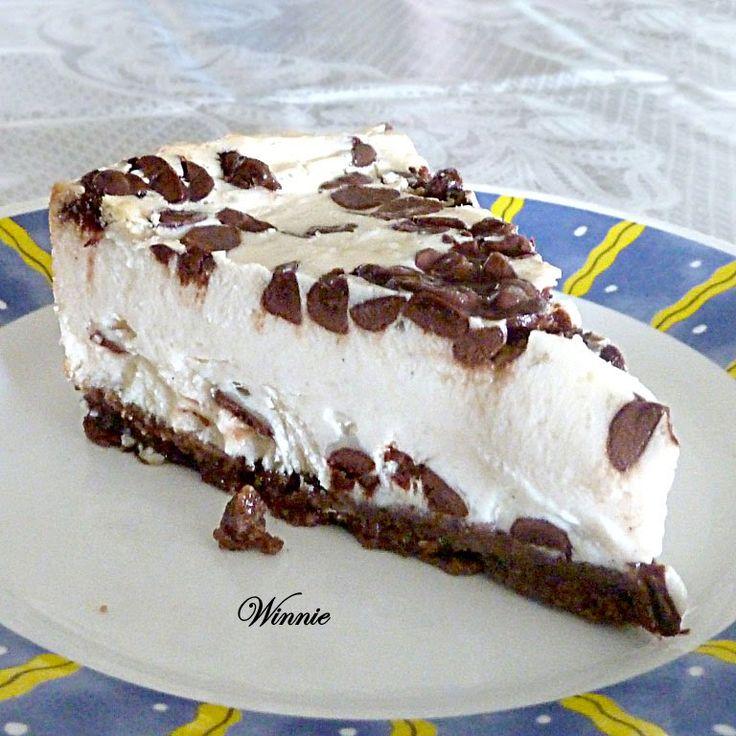 Chocolate Chip Cheesecake | Desserts | Pinterest