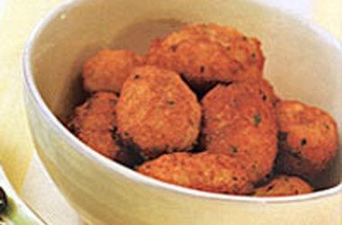 Portuguese Salt Cod Fritters — Punchfork   Portuguese food ...