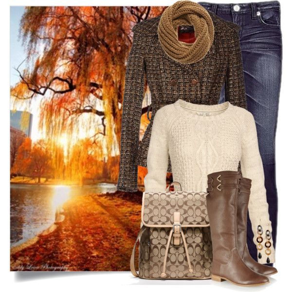 Fall Stroll, created by brendariley-1 on Polyvore