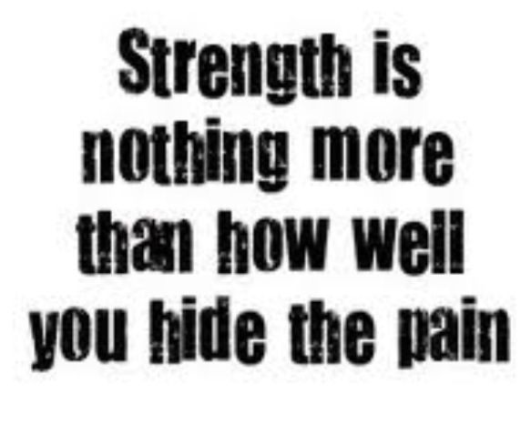 quotes about strength and pain quotesgram