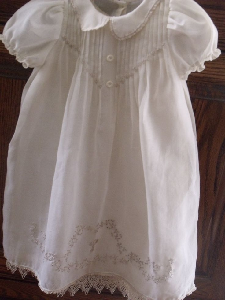 baby dress heirloom sewing & smocking
