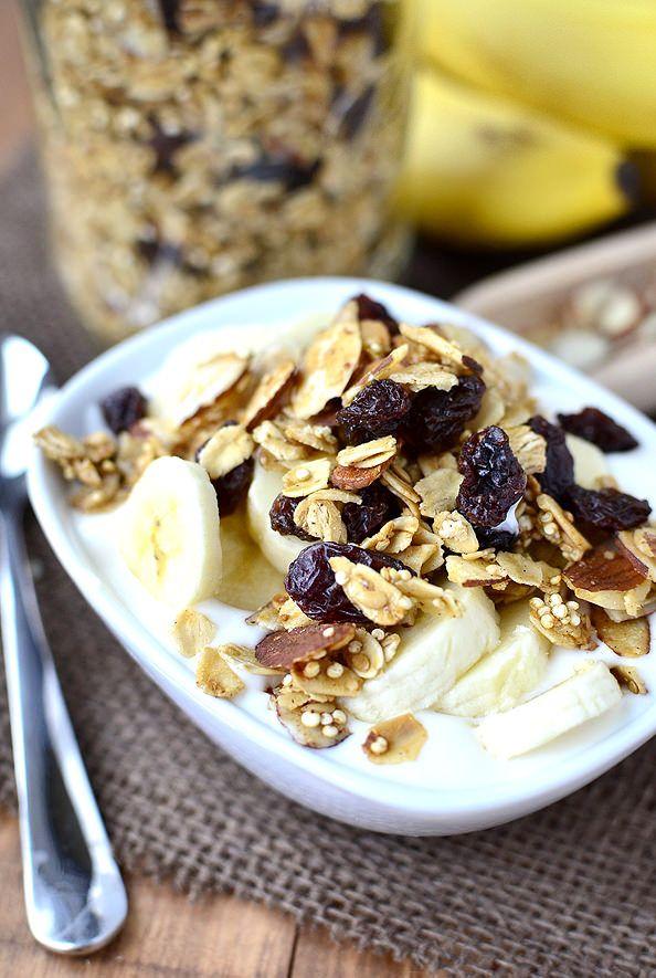 quinoa granola | breakfast | Pinterest