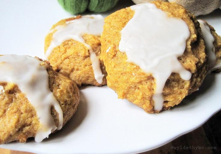 Iced Pumpkin Cookies | Food: Wylde Thyme | Pinterest