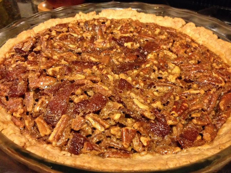 best pie I've made all year if definitely the Bourbon Bacon Pecan Pie ...