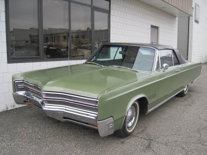 1968 chrysler 300 convertible my dad had one of these in the hardtop