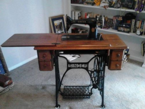 singer sewing machine stand