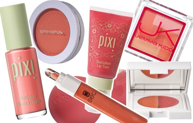 Crazy for Coral Must-Have Beauty Picks