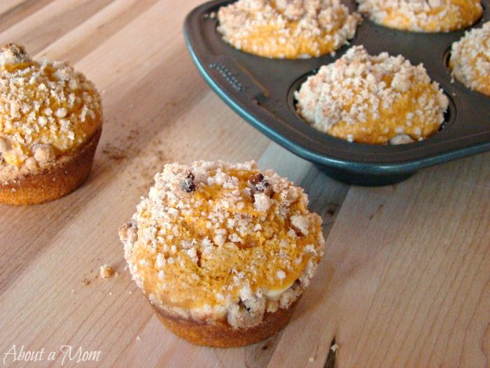 Pumpkin Cream Cheese Muffins♥ Now this recipe sounds wonderful ...