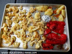 Roasted Cauliflower and Red Pepper Soup | Recipes | Pinterest