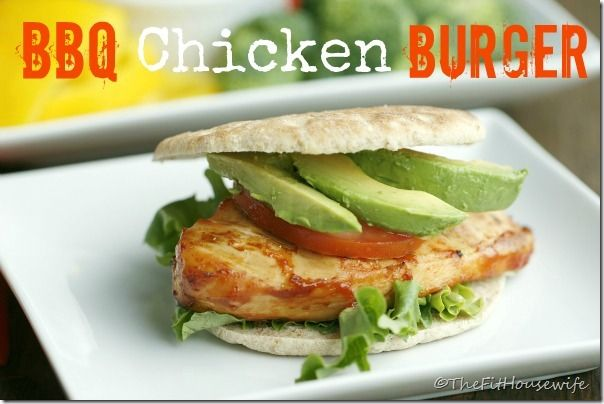 bbq chicken burger picm thumb BBQ Chicken Burgers