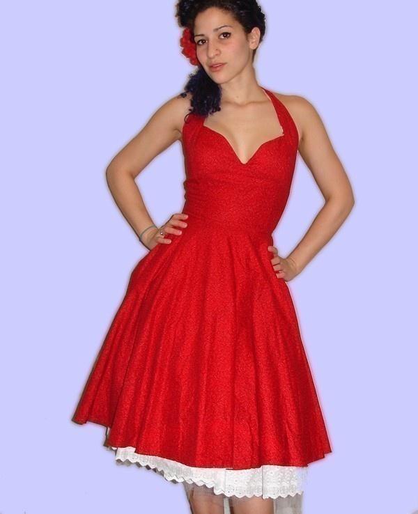 Such a flattering dress