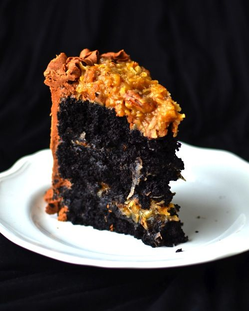 THE BEST GERMAN CHOCOLATE CAKE EVER! Hands down. Just double or triple ...