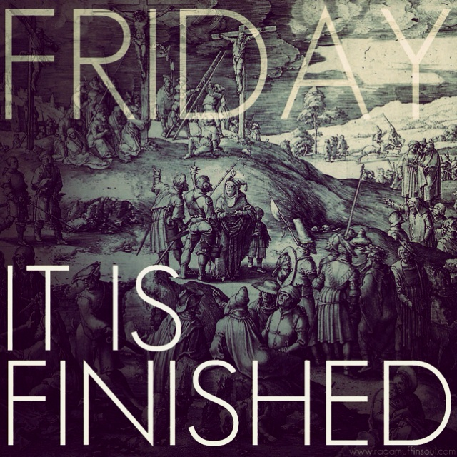 From my instagram for good Friday.
