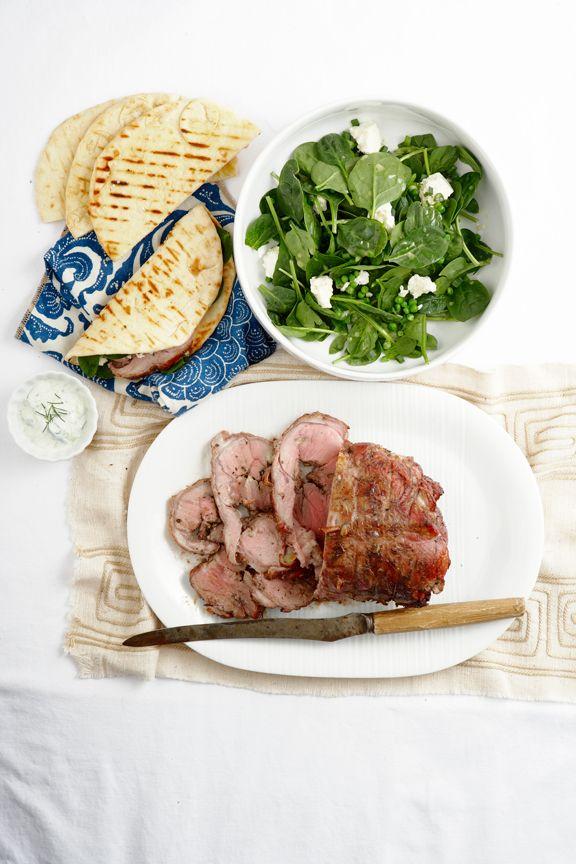 Boneless Leg Of Lamb With Rosemary And Garlic Recipe — Dishmaps
