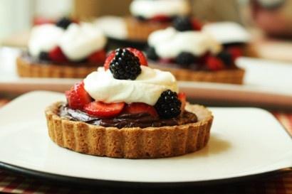 Chocolate Ganache Berry Tartelettes | Recipe