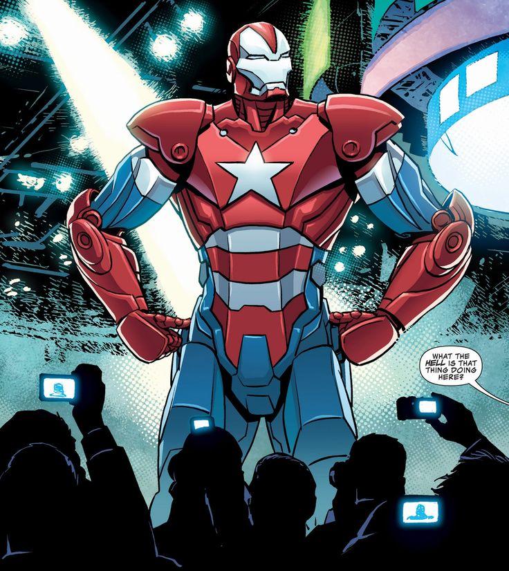 Iron Patriot Comic Iron Patriot