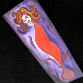 Feed an Artisit -Genie Bookmark - Original Art - Impress your friends