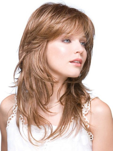 Cute Layers For Girls Medium Length Hairstyles Curly And Stright