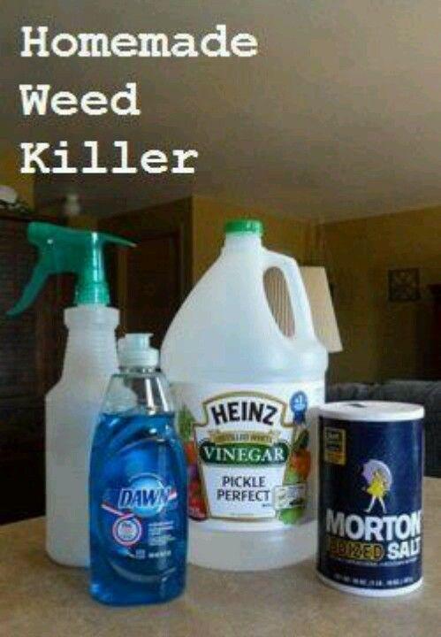 Homemade Weed Killer Helpful Home Tips Pinterest