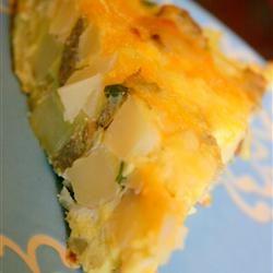 Potato & Cheese Frittata | Favorite Recipes | Pinterest