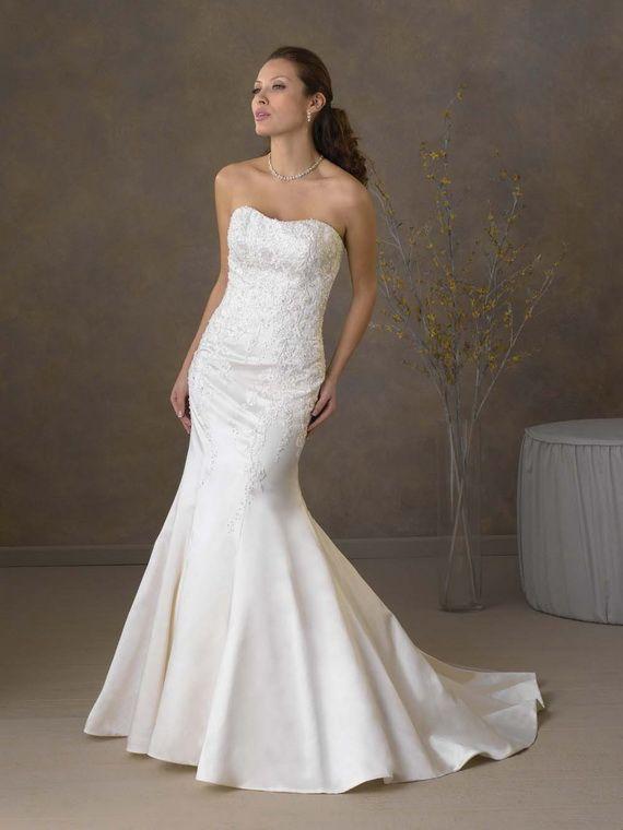 Elegant Mermaid Wedding Dresses I Love Weddings Pinterest