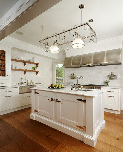 60 White Custom Kitchen Island Smart Trays With Sink