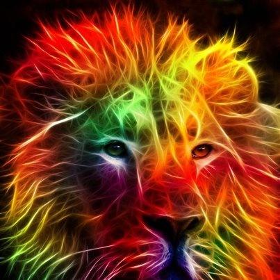 Rasta Lion With Dreads Rasta lion