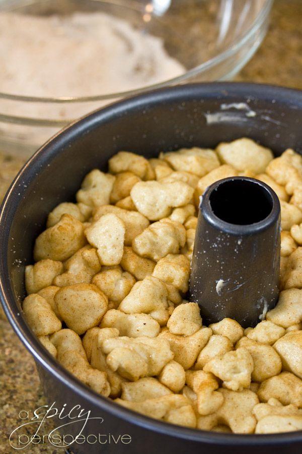 How to Make Drunken Monkey Bread | ASpicyPerspective.com #recipe # ...