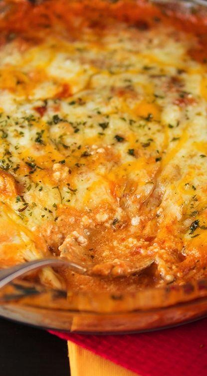 Four Cheese Lasagna Dip | Recipe