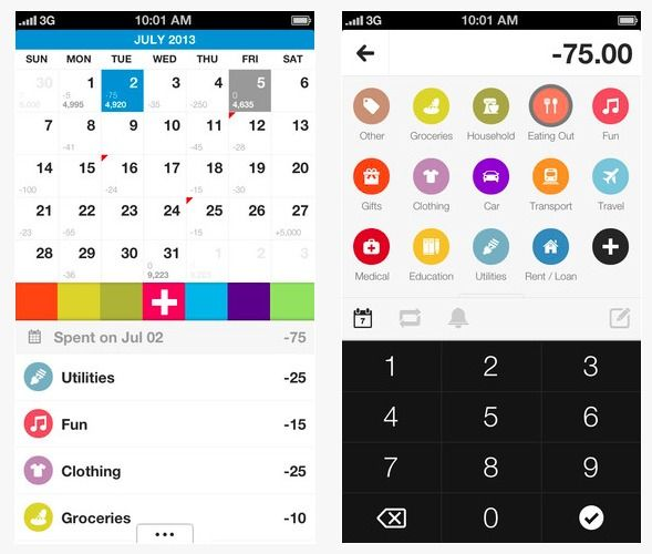 best expense tracking app iphone