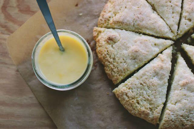 The Vanilla Bean Blog | cream scones + grapefruit curd