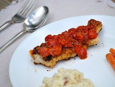 Chicken with Tomato Herb Pan Sauce | Favorite Recipes | Pinterest