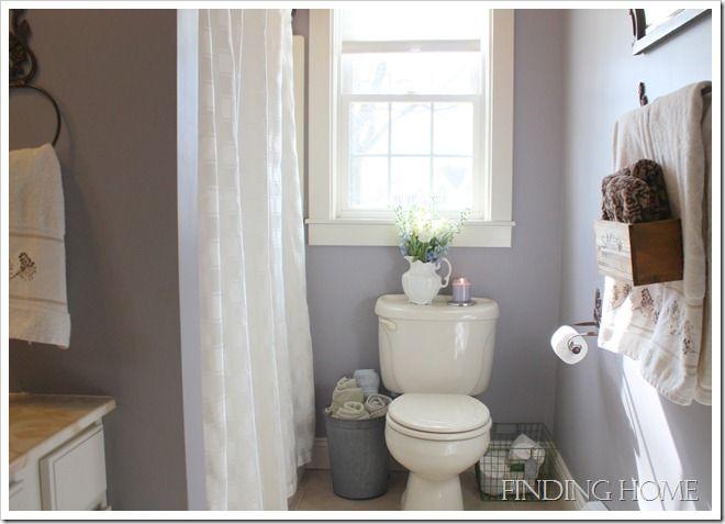 Sherwin williams mysterious mauve master bedroom for Mauve bathroom ideas