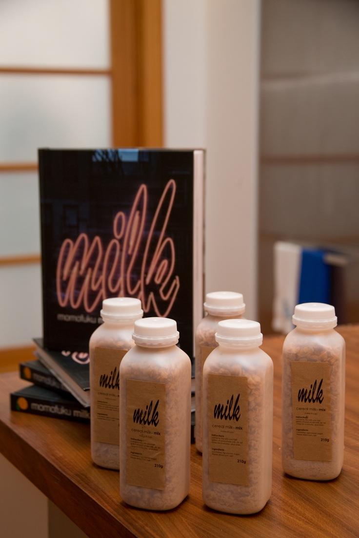 Momofuku Milk Bar's famous cereal milk. | flavors | Pinterest