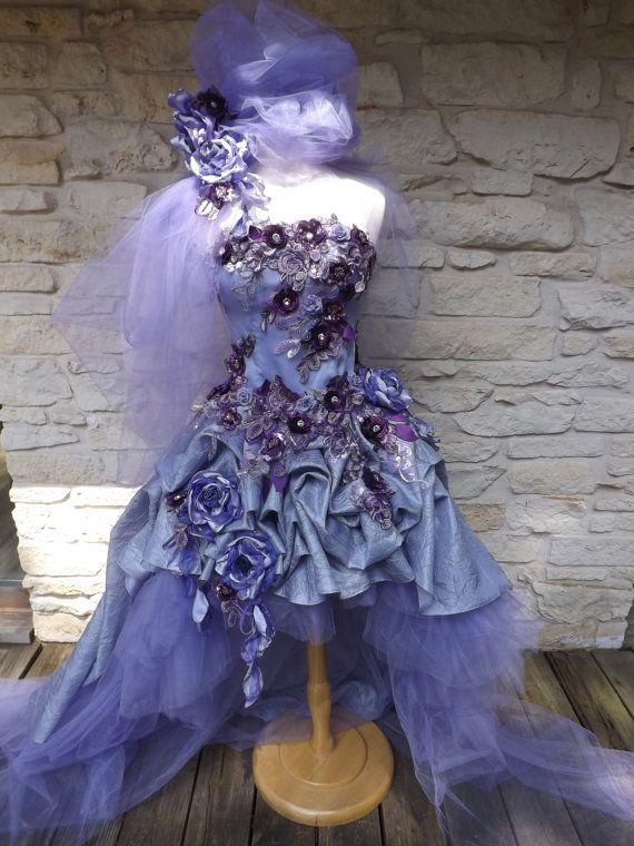 Victorian Lilac Wedding Dresses 101