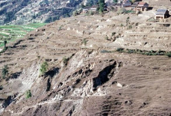 Pin by pauline phelan on nepal pinterest for Soil erosion causes