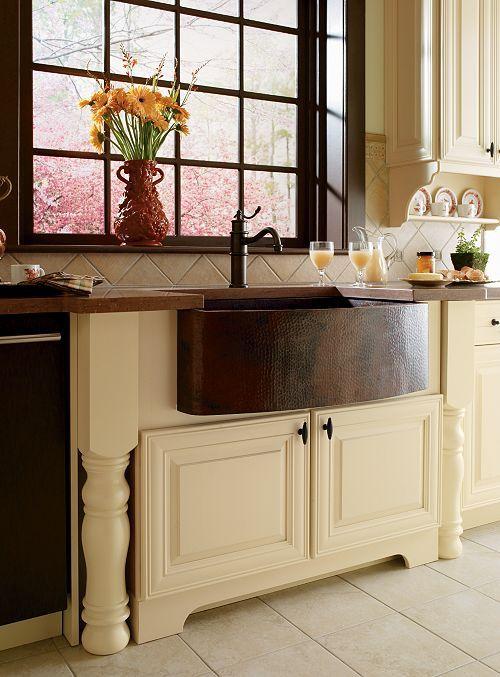 Country Sink Base : Cabinets Kitchen Pinterest
