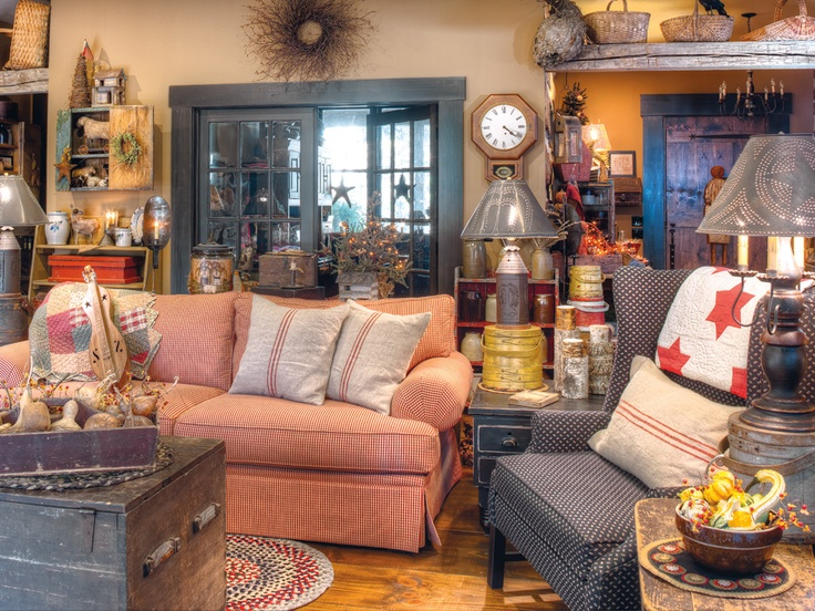 Practical Magic: An antiques-loving Indiana couple manage to combine old-fashioned country flair with energy-saving practicality in their meticulously planned home, where 1800s style meets 21st-century technology. (Photographed by Bill Mathews, styled by Gloria Gale)