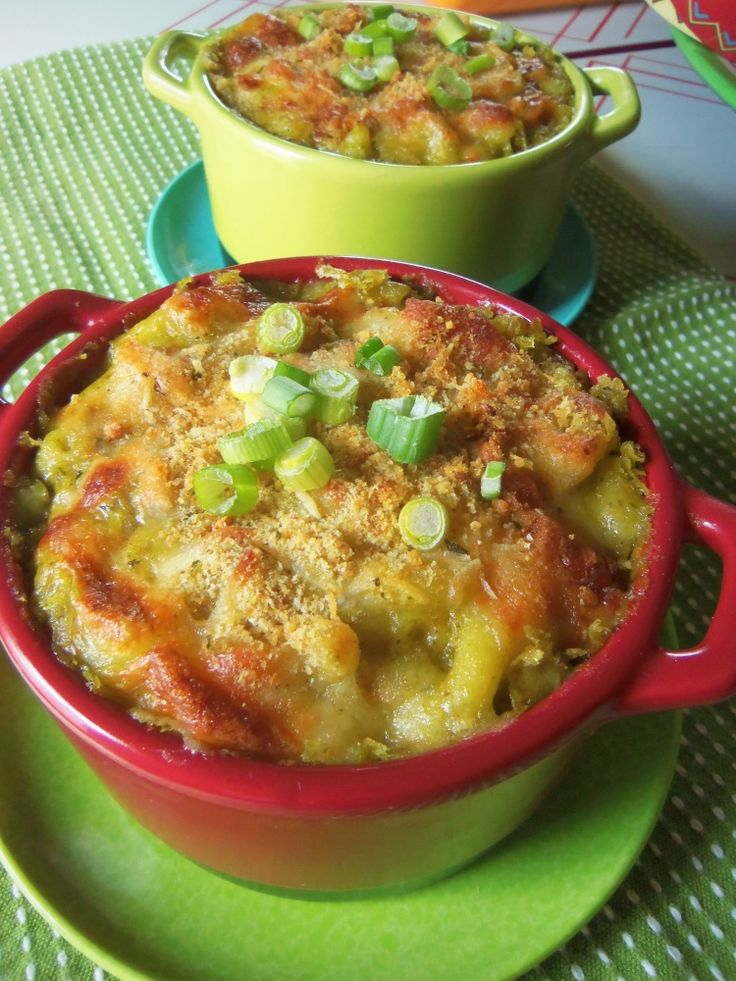 Roasted Poblano Macaroni and Cheese - Hispanic Kitchen March 2014